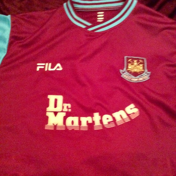 Fila Other - WEST HAM UNITED official home Jersey 6813127e3